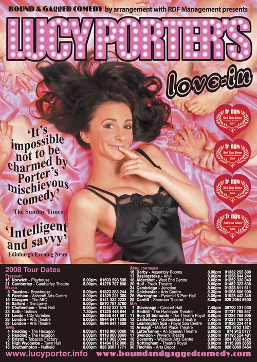 2007 – Lucy Porter's Love In